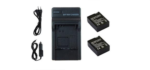 baterías extra gopro