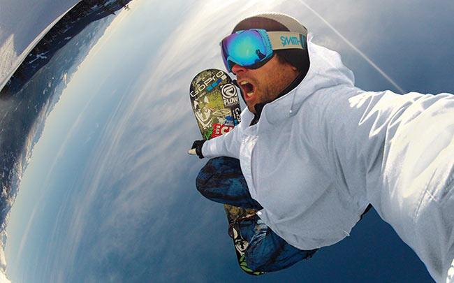 gopro snowboard