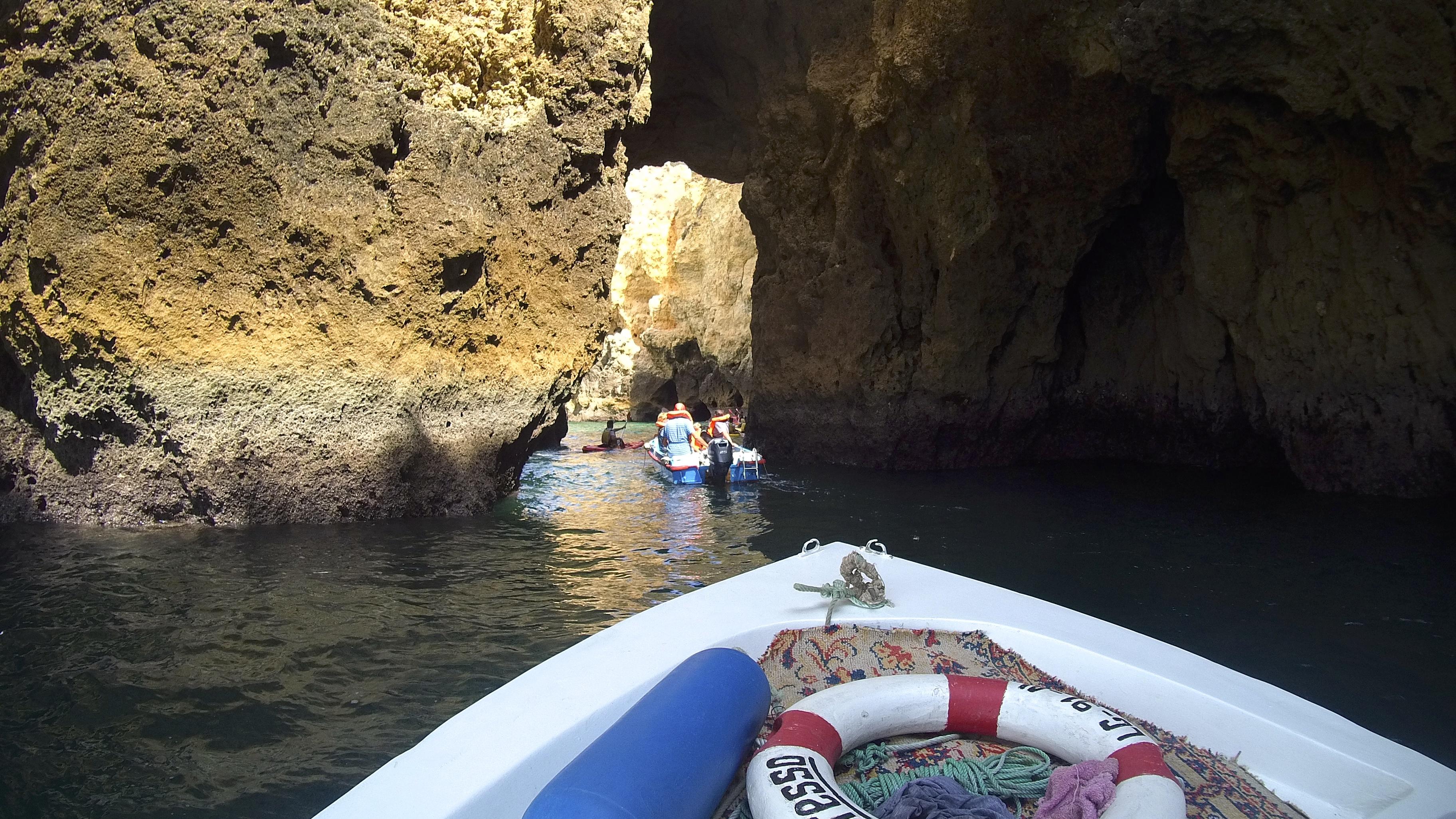 foto isaw cuevas playas lagos algarve