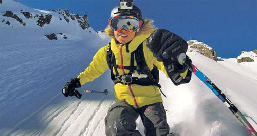 elementos gopro ski