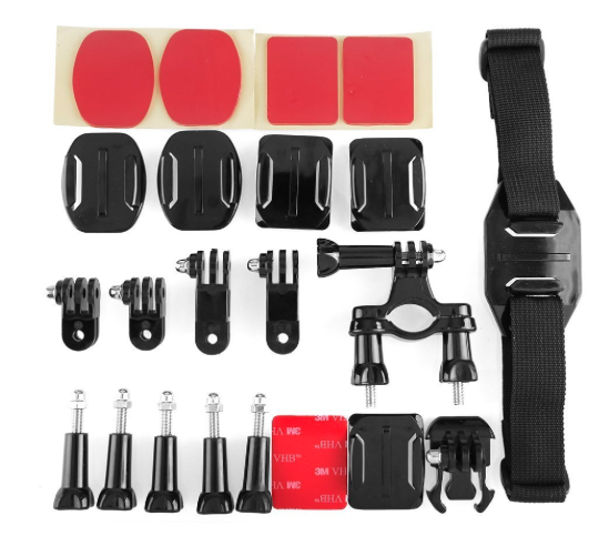 pack completo accesorios gopro