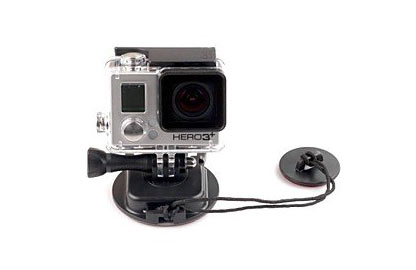 colocar gopro en tabla de snow