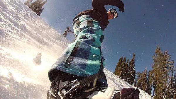 accesorio gopro para tabla de snowboard